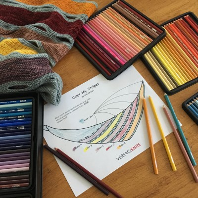 color my stripes coloring page
